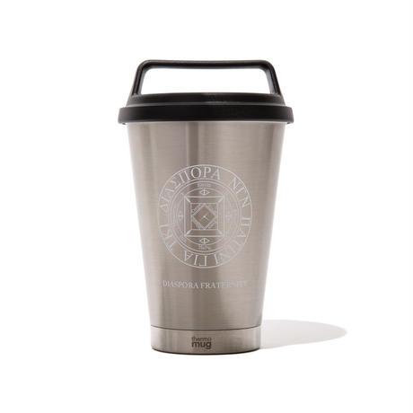 thermo mug  / Magic Circle Grip Tumbler (Silver)