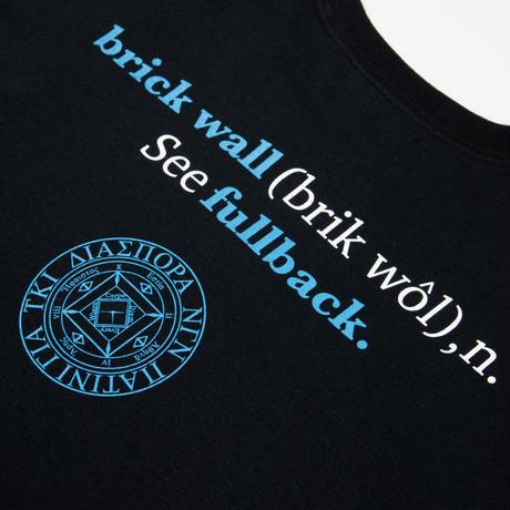 PATRICK / Brick Wall L/S Tee (Black)