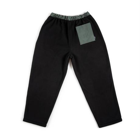 Fleece Trouser / Black - Grey