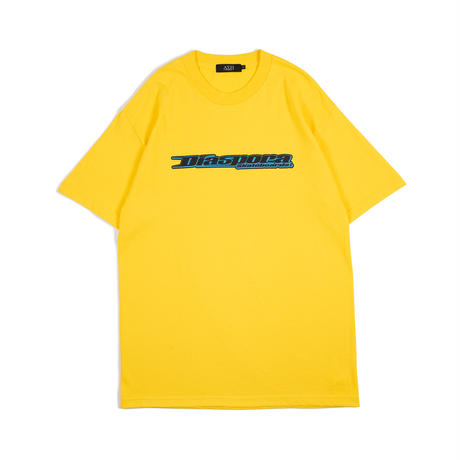 "GUCCIMAZE x Diaspora skateboards  ""SYMBIOSIS"" TEE (Yellow)"