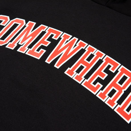Somewhere Hooded Sweatshirt (Black)