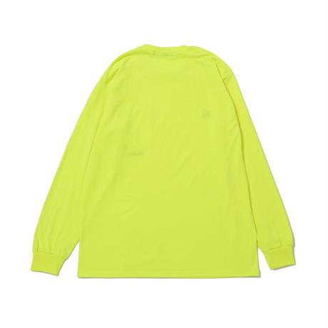 DET L/S Pocket Tee (Safety Green)