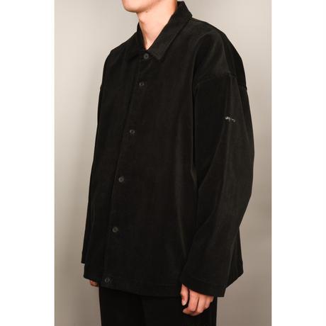 Corduroy Coach Shirt Jacket (Tan)