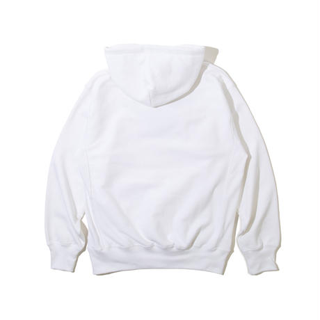 6 Elements Embroidered Hooded Sweatshirt (White)