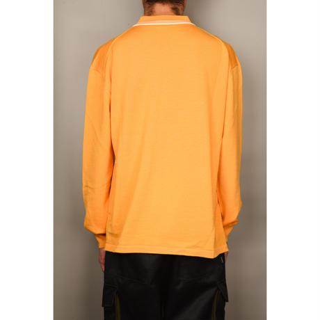 Wool Knit Polo (Mustard)