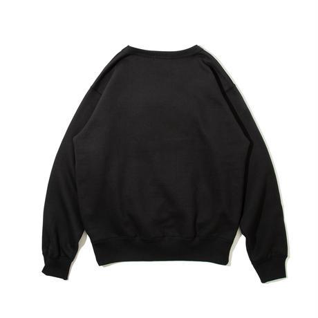 Frat Arc Logo Crewneck Sweatshirt (Black)