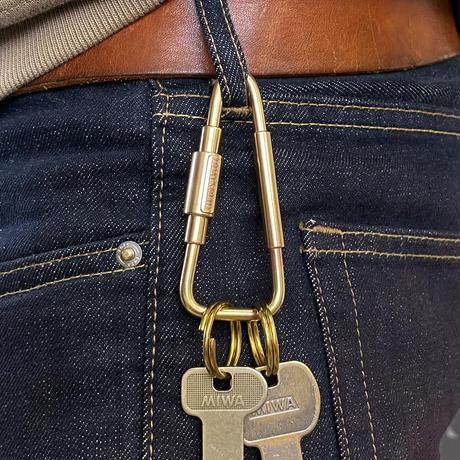 Brass Triangle carabiner