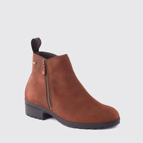 Carlow Women's Zip Boots Walnut/カーロー レディースジップブーツ ウォールナット(3984-52)