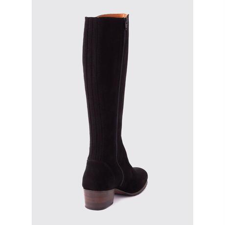 Downpatrick Women's Knee-High Boots /Black Suede/ ダウンパトリック レディースニーハイブーツ/ブラックスエード(3762‐93)