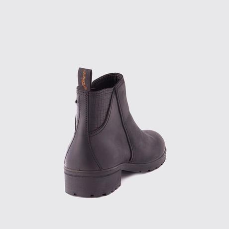 Carlow Women's Zip Boots Black/カーロー レディースジップブーツ ブラック(3984-01)
