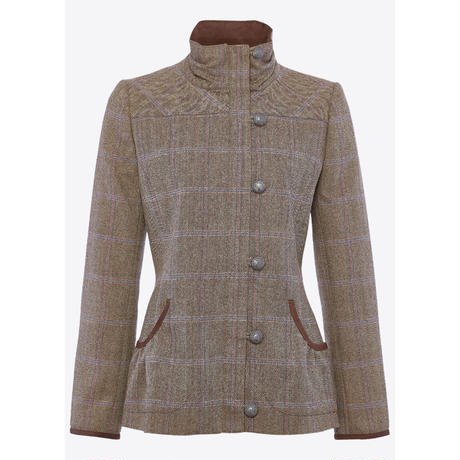 Bracken Tweed Jacket Womens- Woodrose/ブラッケン ツイード レディースジャケット  ウッドローズ(4115-54)