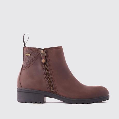 Carlow Women's Zip Boots Old Rum/カーロー レディースジップブーツ オールドラム(3984-15)