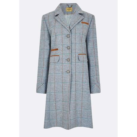 Blackthorn 3/4 Tweed Jacket Womens-Blue Herther/ブラックソーン 3/4 ツイード レディースジャケット ブルー(4114-58)