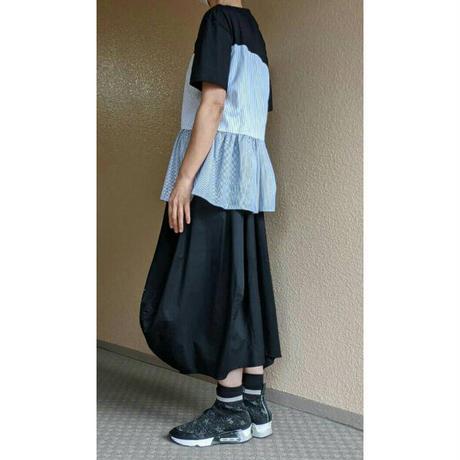 ロングバルーンスカート〔OB034〕