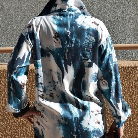 プリントシャツ〔OB025〕