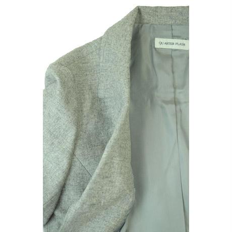 QUARTER FLASH  ウール ポケット付きジャケット〔G047〕