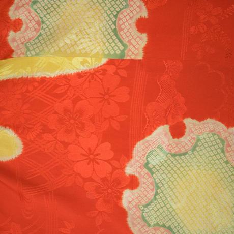 goto asato Fun Maxi T-shirt〔LT-TS02X〕 (06:赤と黄の抽象模様)
