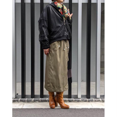 MADE IN SENS  ラビット柄中綿入りストール   〔MISW19-23〕