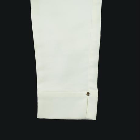 SILVETA コットンストレッチパンツ〔BCO14HW-05〕(WHITE)