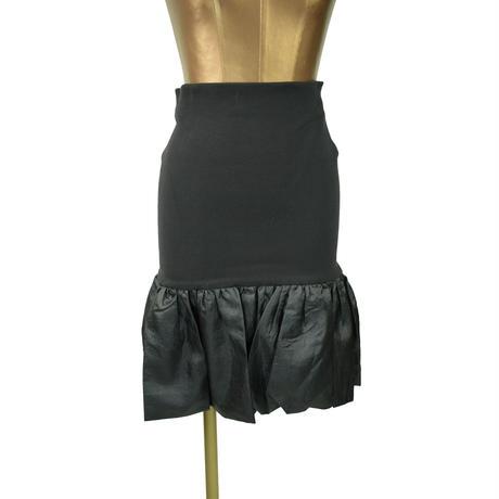 QUARTER FLASH  リブ×バルーン デザインスカート 〔 T069〕