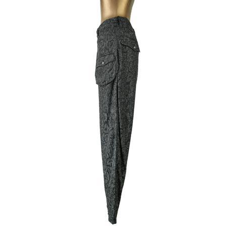 KOHSHIN  SATOH  レディース ラメ レース素材パンツ〔PL-769〕(Silver 26)