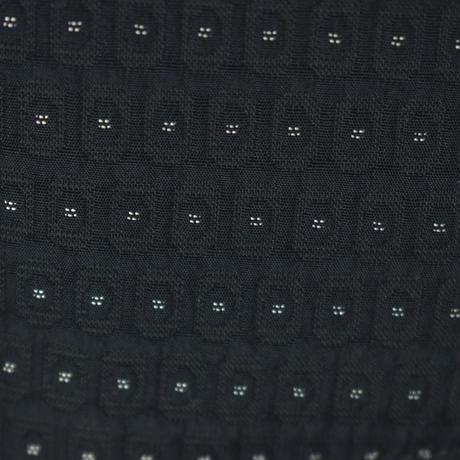 KOHSHIN  SATOH  メンズ  地模様 ストレートパンツ〔PL-893A〕(Black 40)