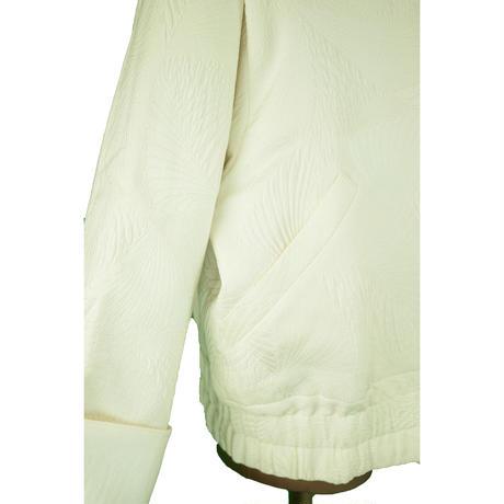 goto asato  Special Quilted Jacket〔GA-JK01X〕 (04:白に曲線柄)