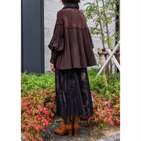 DOLLUPOOPS  アニマルプリント×チュール スカート 〔60720〕(02-38)