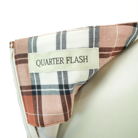 QUARTER FLASH  チェック フレアースカート 〔 T061〕