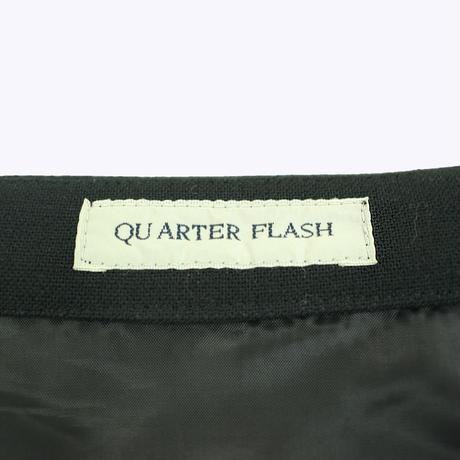 QUARTER FLASH  ボーダー ラップスカート 〔 T065〕