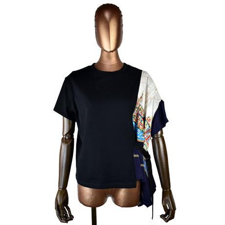 DOLLUPOOPS  アシンメトリー Tシャツ〔65969〕(02-38)