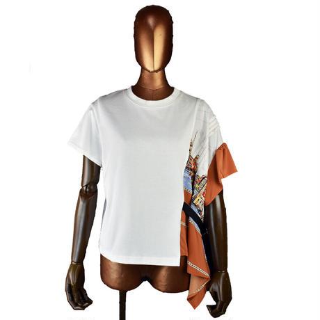 DOLLUPOOPS  アシンメトリー Tシャツ〔65969〕(01-38)