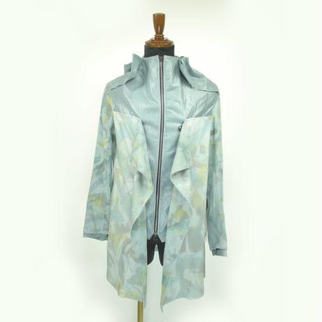 KOHSHIN SATOH メンズ  フード付きジッパージャケット 〔CT-059〕(Lightg Grey-48)