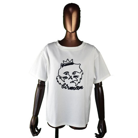 DOLLUPOOPS  CAT刺繍 Tシャツ〔78314〕(01-38)