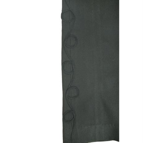 de la vieux コード刺繍 パンツ〔 V0062〕