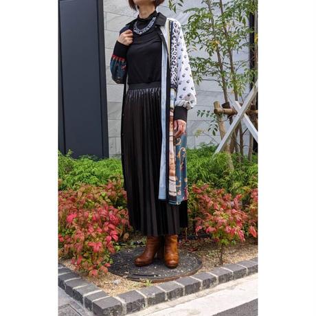 DOLLUPOOPS  レザー調プリーツスカート 〔600273〕(02-38)