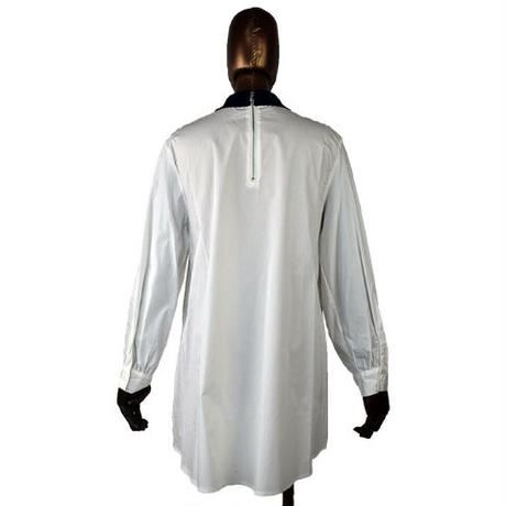 DOLLUPOOPS ニットパッチワークシャツ  〔600108〕(03-38)