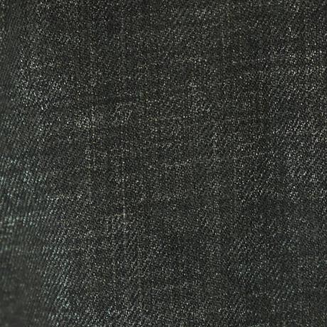 QUARTER FLASH  ショート丈 箔デニムブルゾン〔G041〕