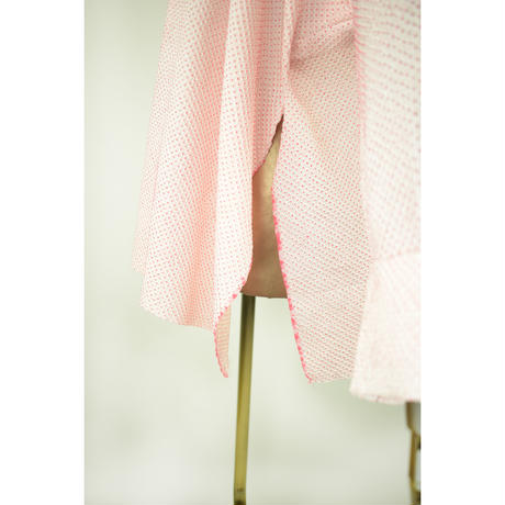 goto asato Shibori  Holiday Pullover 〔LT-PL01X〕 (02:ピンクの総絞り)