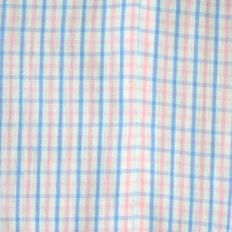 goto asato    Two-tone Jumpsuit〔GA-SS16-JS03〕(E:pink &orange on white)