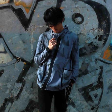 KOHSHIN SATOH  メンズ パーカー 〔CT-078〕(Blue-48)