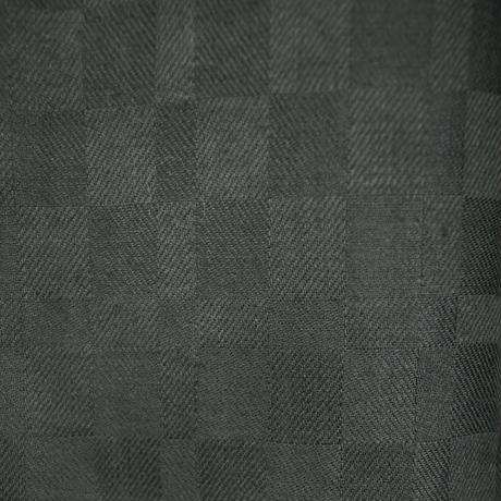 KOHSHIN  SATOH  レディース インド刺繍 市松ジャガードパンツ〔PPL-107〕(Black 26)