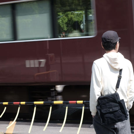 【アーカイブ受注生産品】ノウユアライツバッグ TYPE1 -マッティブラック-