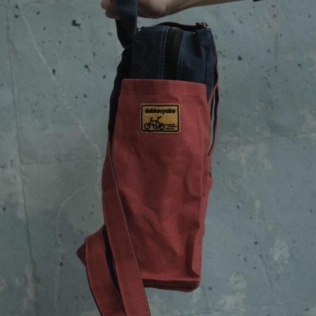 【ご要望にお応えしてSサイズ!】ケイオス! リュックサック21 S(2tone) -ディープシーネイビー/コメットレッド-