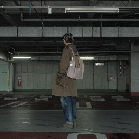 【アーカイブ受注生産品】ケイオス! リュックサック21M(2tone) -ゴマベージュ/アシュリーピンク-