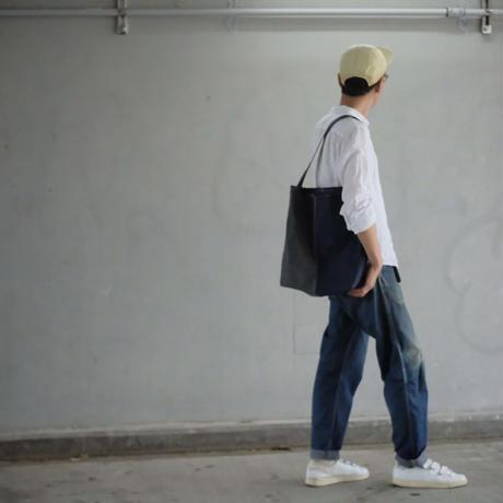 【使いやすくて大容量なLサイズ!】コヴェントリーバッグ L-ディープシーネイビー/エレファントグレー-
