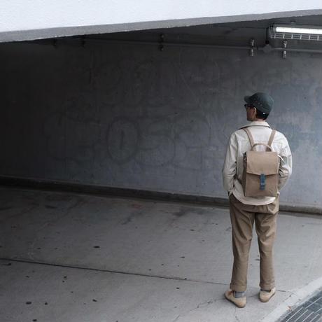 【ダブラヴヨブス6年目の集大成リュック!】ウィリアムソンリュックサック  -ベージュ/スモーキーブルー-