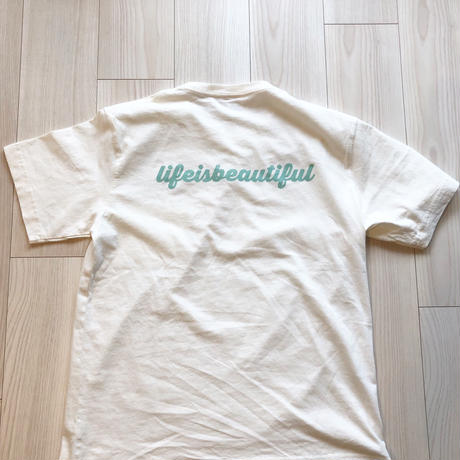 life is beautiful  Tシャツ
