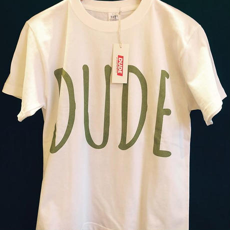 DUDE BIG LOGO T-SHIRT