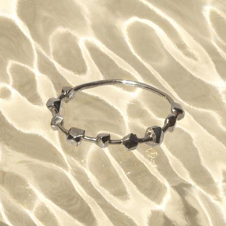 〈DE-AR103〉metal gem ring